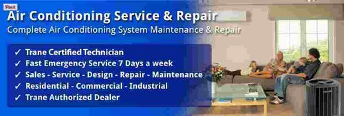 Air conditioning services, Heating services, Heating and