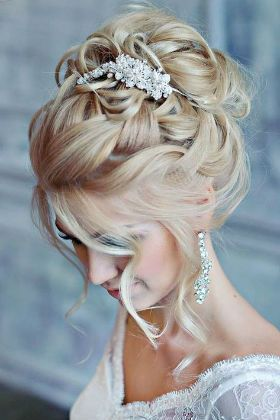 25+ Coiffure mariage chic et glamour inspiration