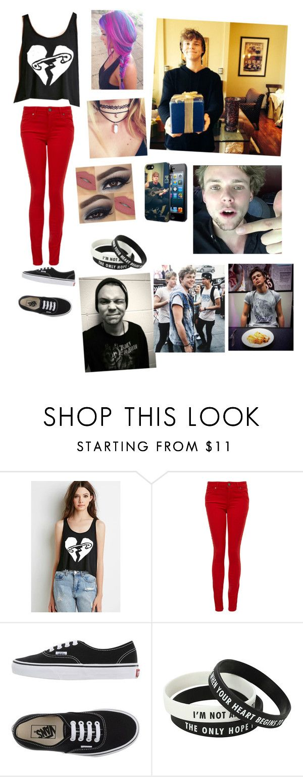 """Casual Date with Ashton for @boobear1707"" by punk-koala-loves-5sos ❤ liked on Polyvore featuring interior, interiors, interior design, home, home decor, interior decorating, Bellissima, Paige Denim, Vans and Samsung"