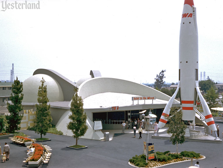 Yesterland Rocket To The Moon Disneyland Anaheim Vintage Disneyland Retro Disney