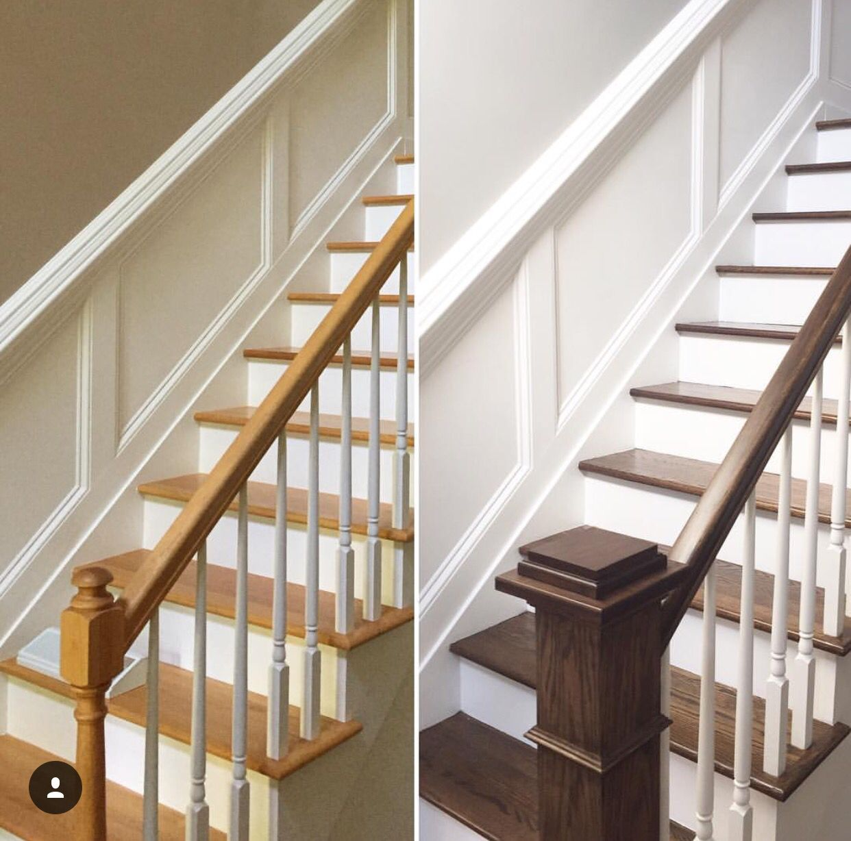 Staircase Makeover Pinteres - 7 cool and very easy diy banister makeovers