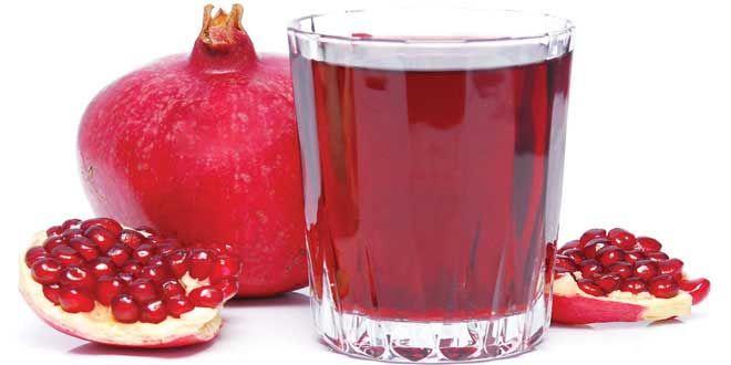 Un nouvel aliment anti cancer, c'est le jus de grenade.