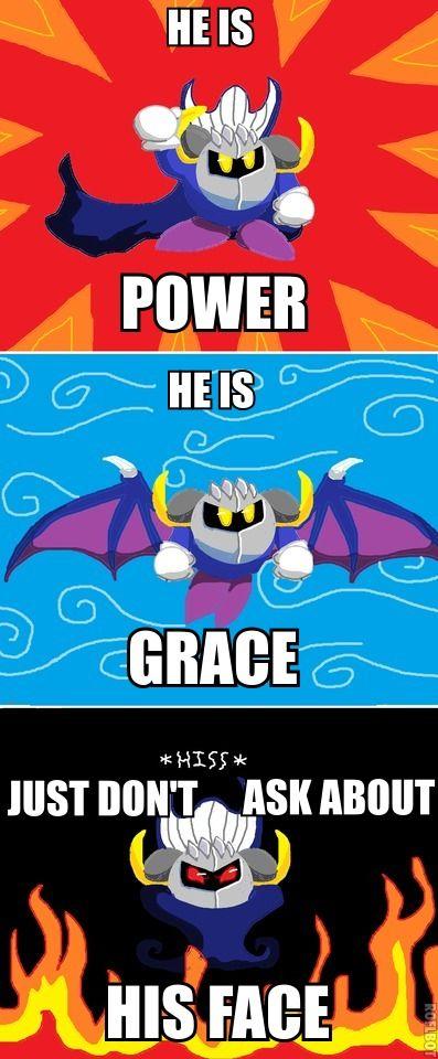 Funny Meta Knight