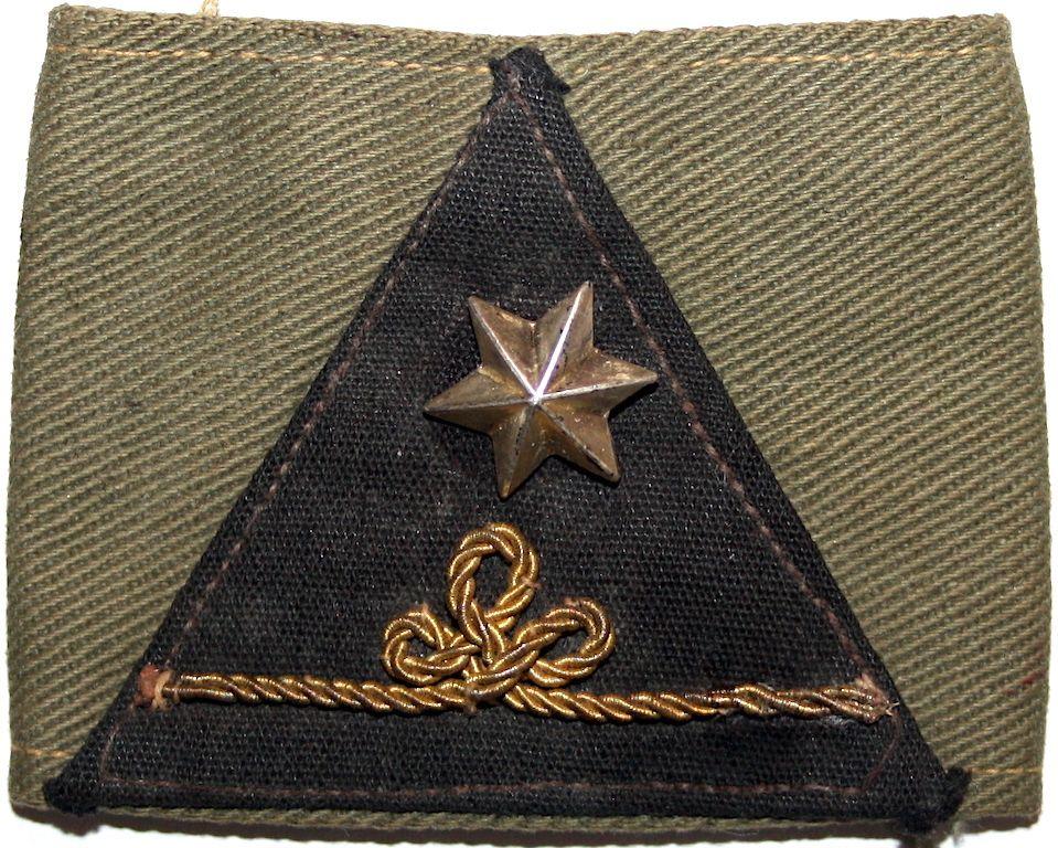 Tweede Luitenant KNIL CORO (Corps Opleiding Reserve Officieren) te Bandoeng 1938 Ned. Indië