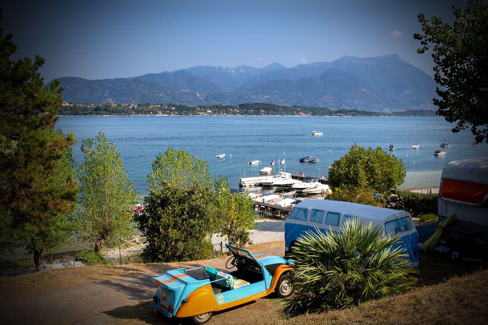 Stellplatz Larocca Gardasee Im Freien Gardasee Schwimmbader