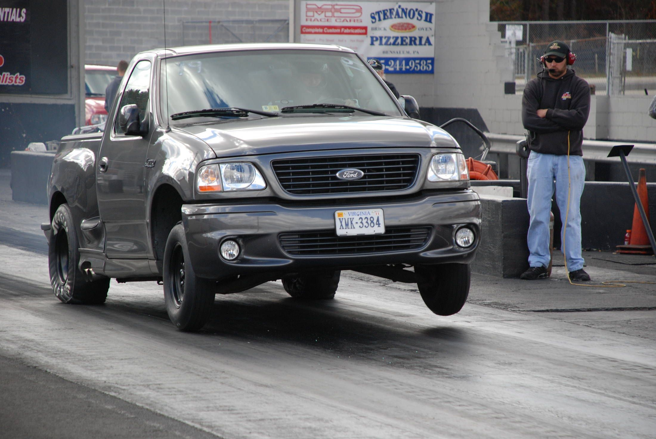 2004 Ford F150 Lightning Svt 1 4 Mile Drag Racing With Images