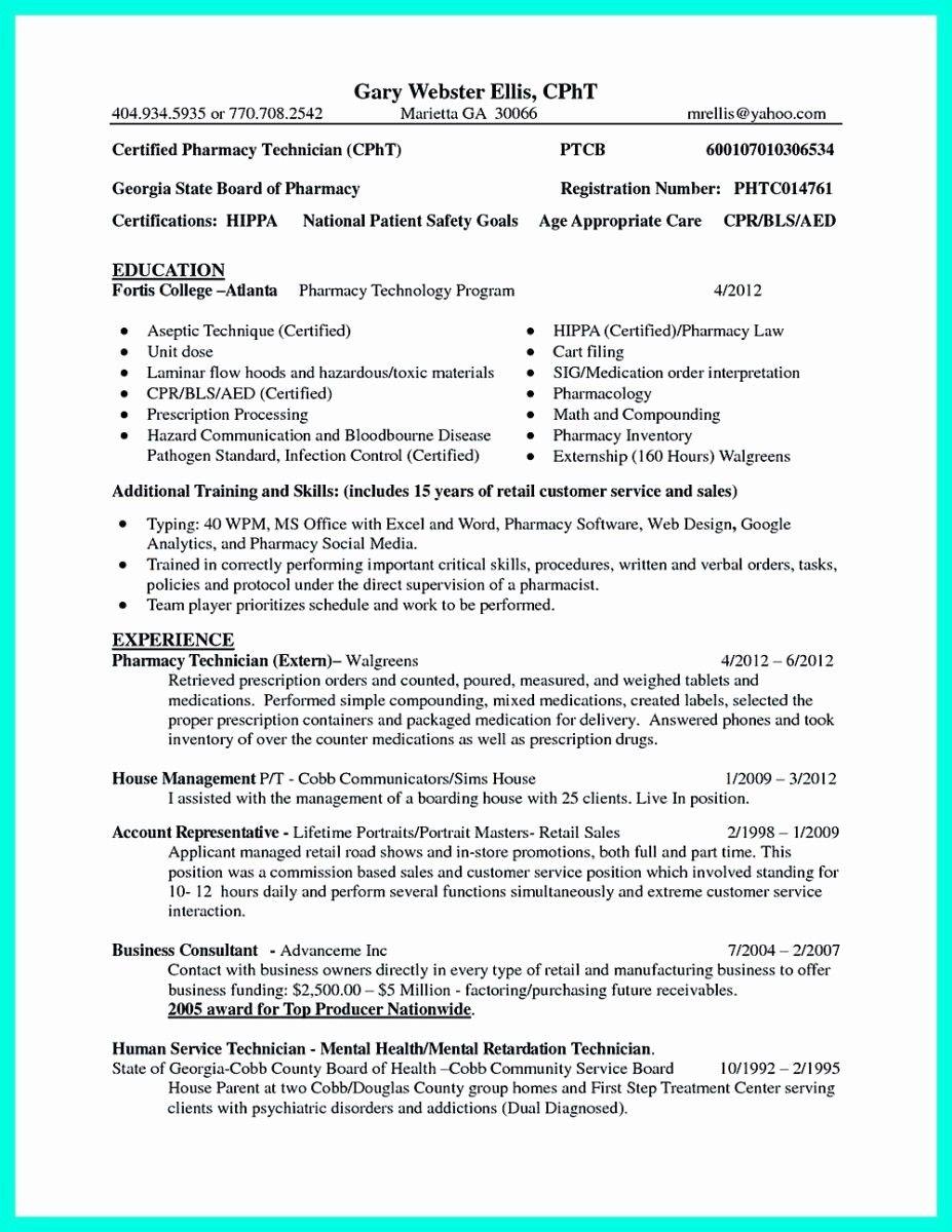 Elegant pin on resume template in 2020 pharmacy
