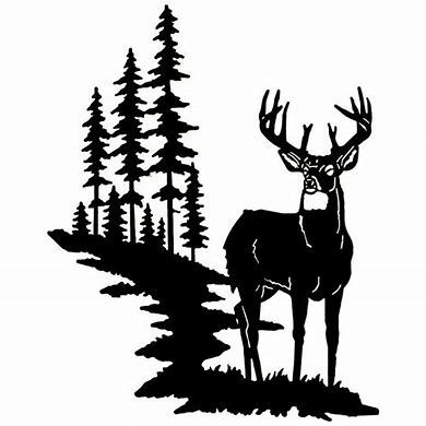 Image Result For Deer Scene Silhouette Svg Hunting Decal Silhouette Clip Art Deer Silhouette