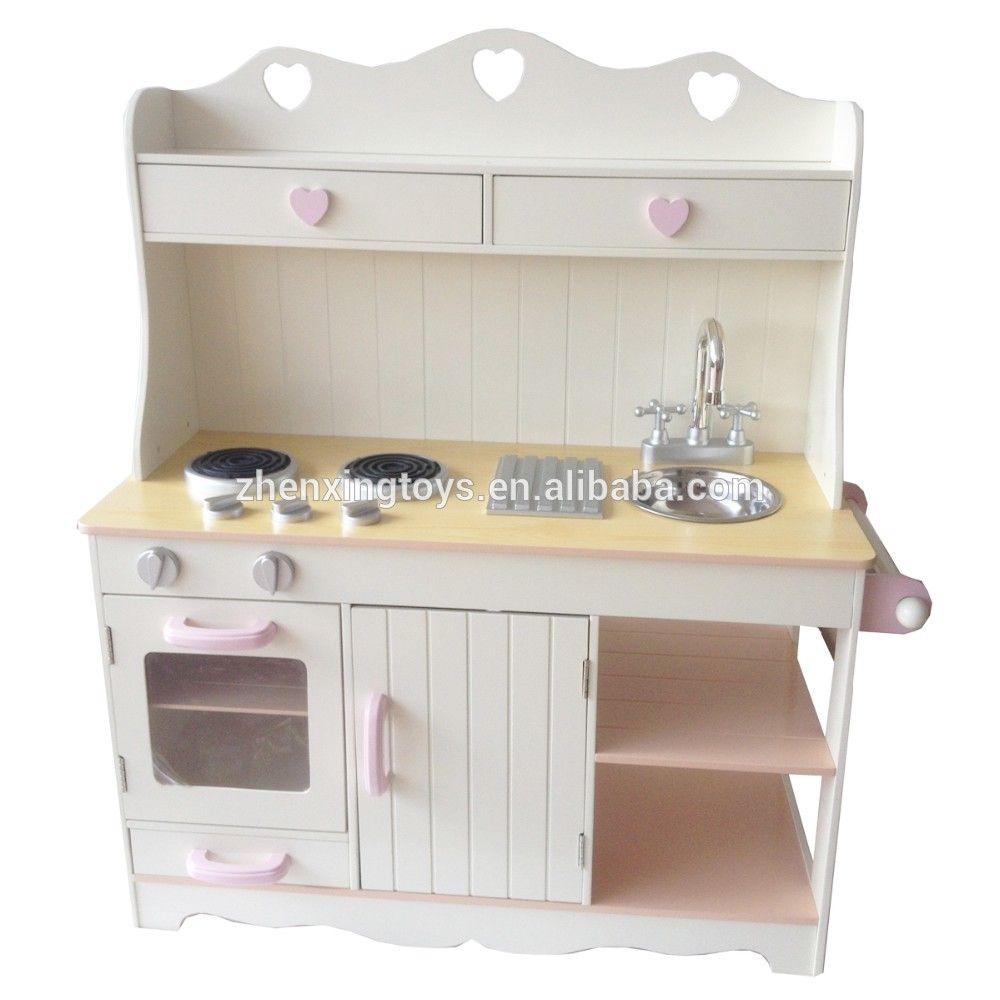 Kids Wooden Toy Kitchen Play Set - Buy Toy Kitchen Set,Wooden Toy ...
