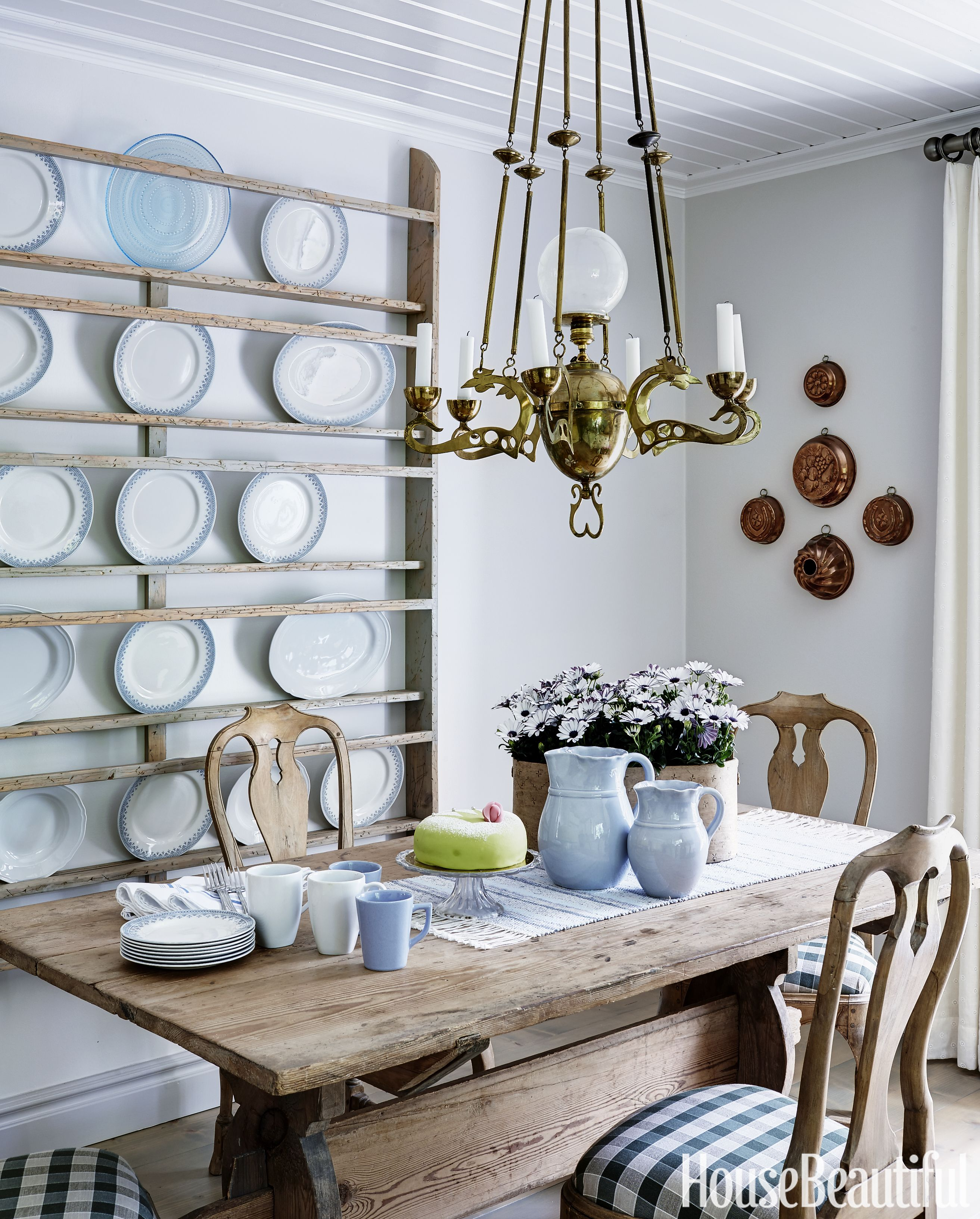 Swedish Country Home Decor: This Home Will Convince You To Decorate Swedish-Style