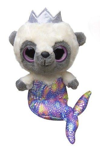 c16b69687fa 5 Aurora Plush Yoo Hoo Friends Purple Mermaid Stuffed Animal Toy with Sound  New