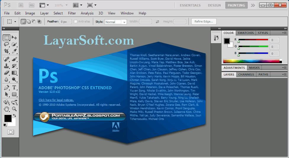Download Adobe Photoshop Cs5 Extended Portable Full Version Gratis Aman Terbaik Terbaru Link Google Drive Free Full Photoshop Adobe Photoshop Google Drive