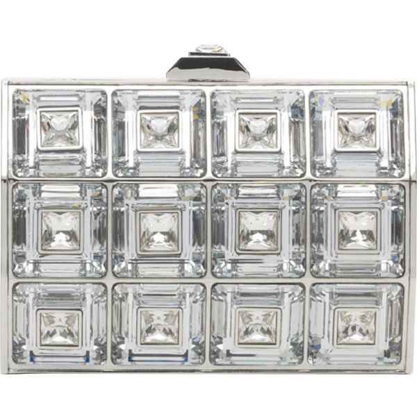 Judith Leiber Russian Sky Crystal Minaudiere