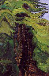 EMILY CARR   Cedar Sanctuary, c.1942   Art History Archive