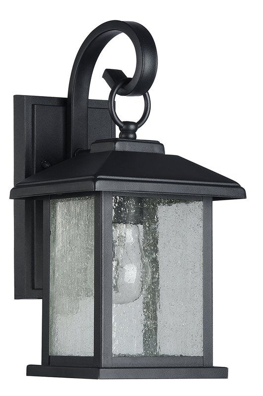 b3849dc9f70 Home Decorators Collection Summit Ridge Collection Zinc Outdoor Integrated  LED Dusk-to-Dawn Medium Wall Lantern-CQH1691L-5