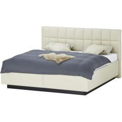 Photo of Upholstered bed Clever 12 ¦ cream ¦ Dimensions (cm): W: 174 H: 119 Höffner