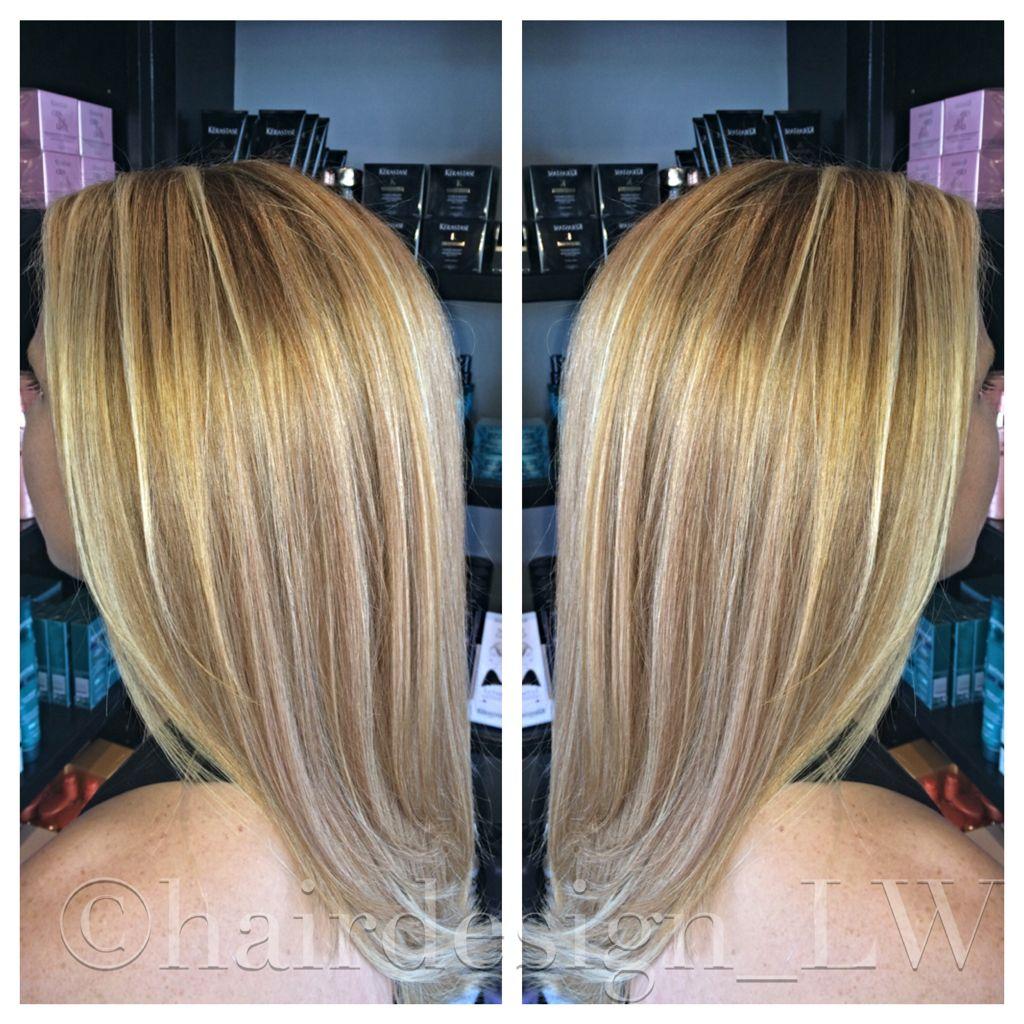 #strawberry #blonde #highlights #balayage #babylights : Instagram - @hairdesign_LW