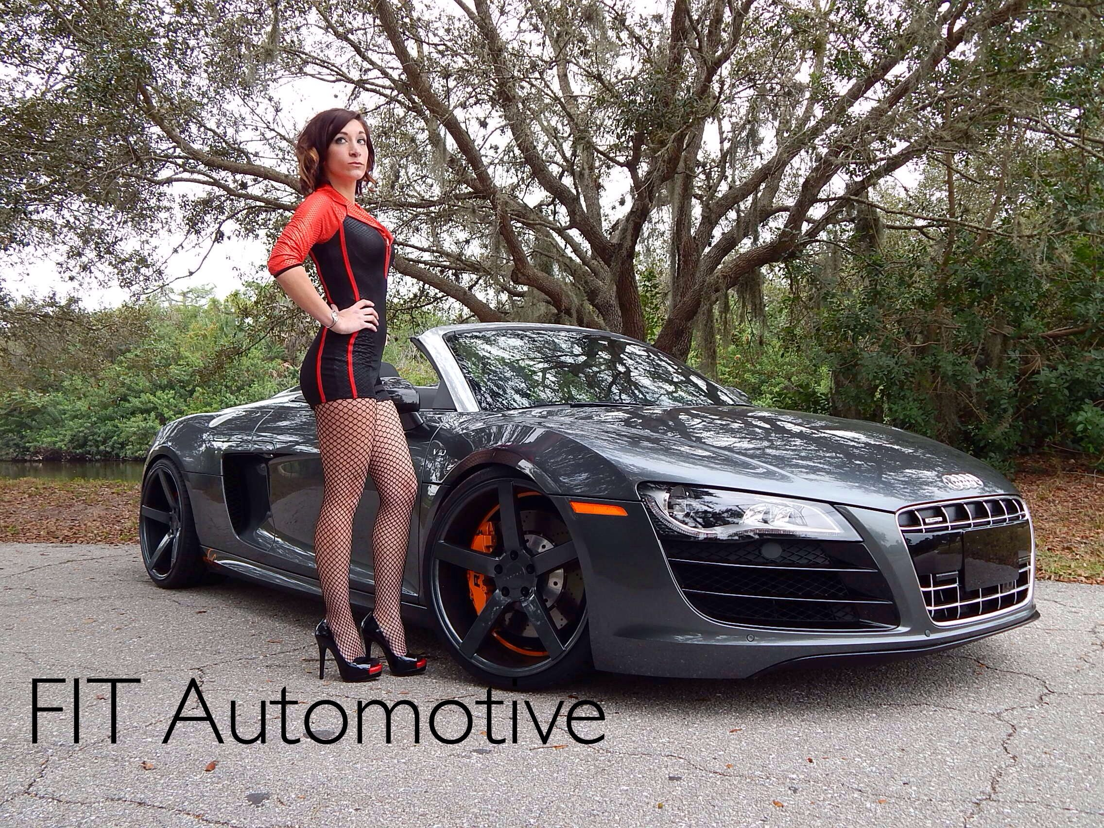 Cars And Girls. #hotgirl #car #audi #audir8 #fastcars #carmodel