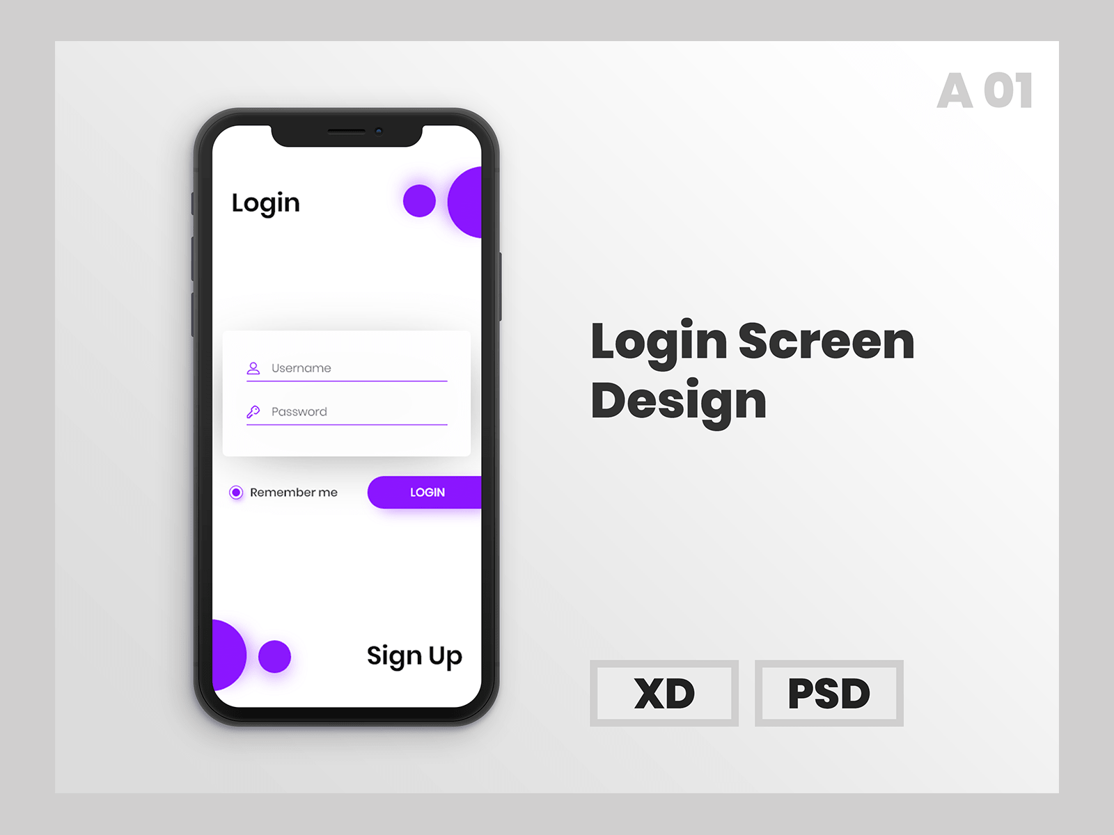 Download Login Screen Mockup for Free. This awesome mock