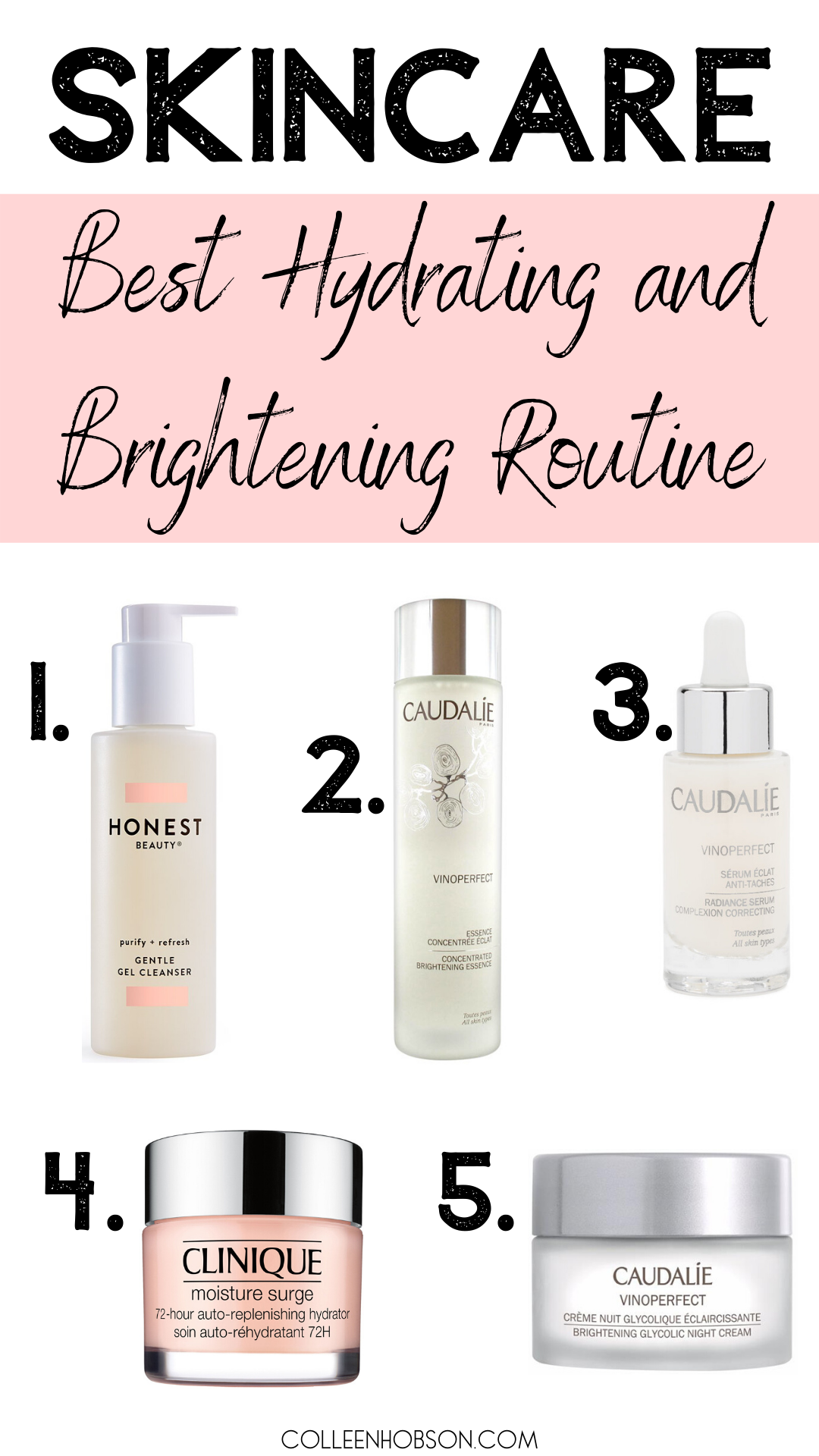 Amazing Skincare Routine For Dry Winter Skin - Colleen Hobson