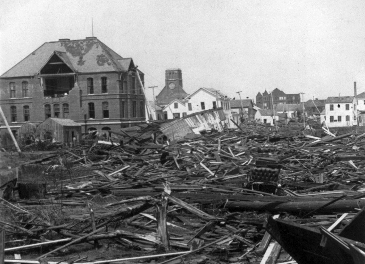 After Disaster 8 U S Cities That Went From Ruin To Rebirth 1900 Galveston Hurricane Galveston Galveston Hurricane