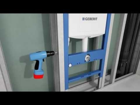 Scheffer Badkamers presenteert u de installatie van een Geberit ...