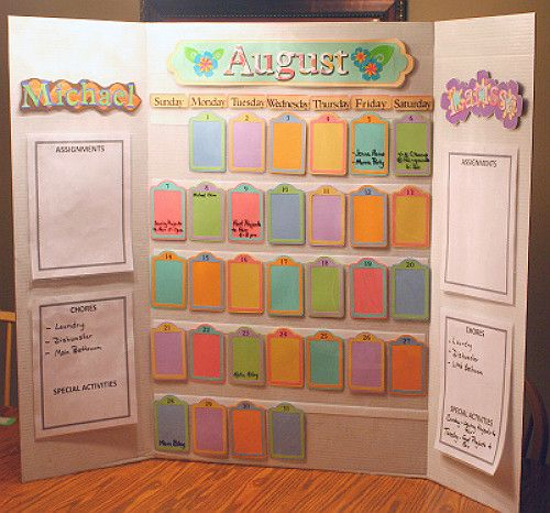 our diy back to school organizer board gluenglitter collectivebias