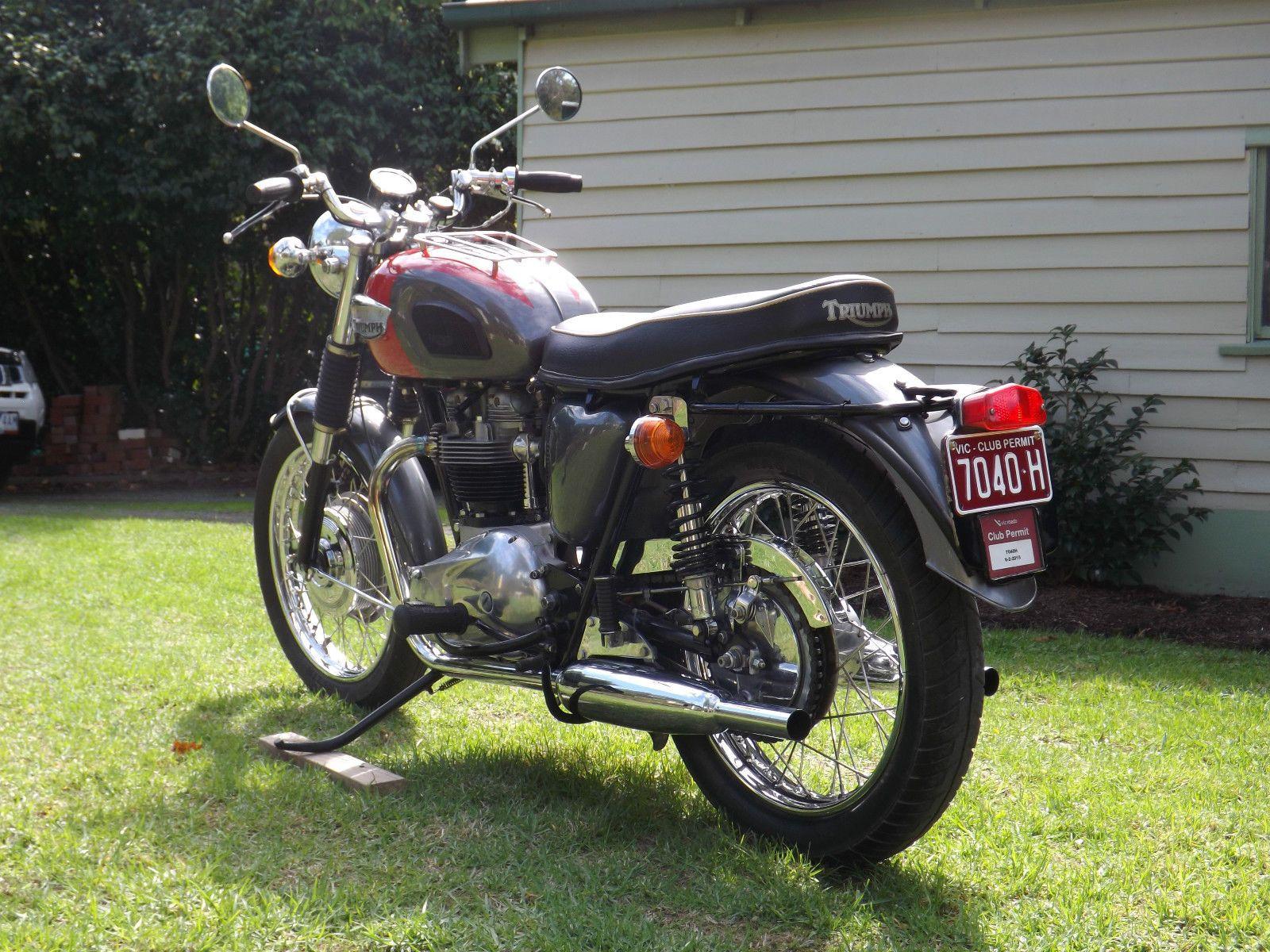 Triumph Bonneville T120 650cc Clic British Motorcycle | eBay ...