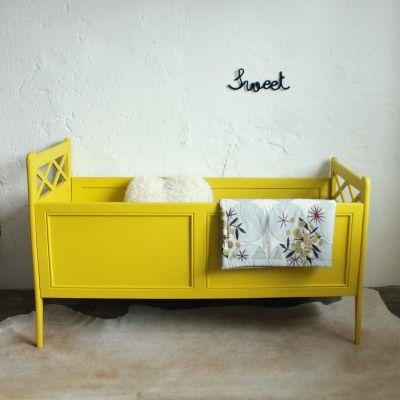 Lit bébé bois vintage - C216 Pinterest Baby bedding, Kids rooms