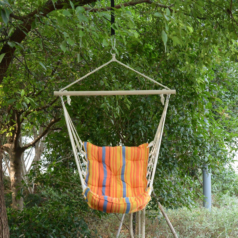 Outsunny Hammock Outdoor Furniture Patio Swing Seat Garden Deck Yard