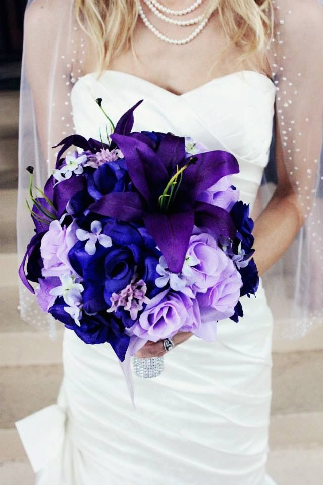 Different Shades Of Purple Lavender Make This A Beautiful Interesting Choice
