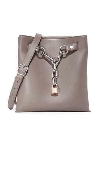 ALEXANDER WANG Attica Chain Shoulder Bag.  alexanderwang  bags  shoulder  bags  leather   79cd7a90e4f