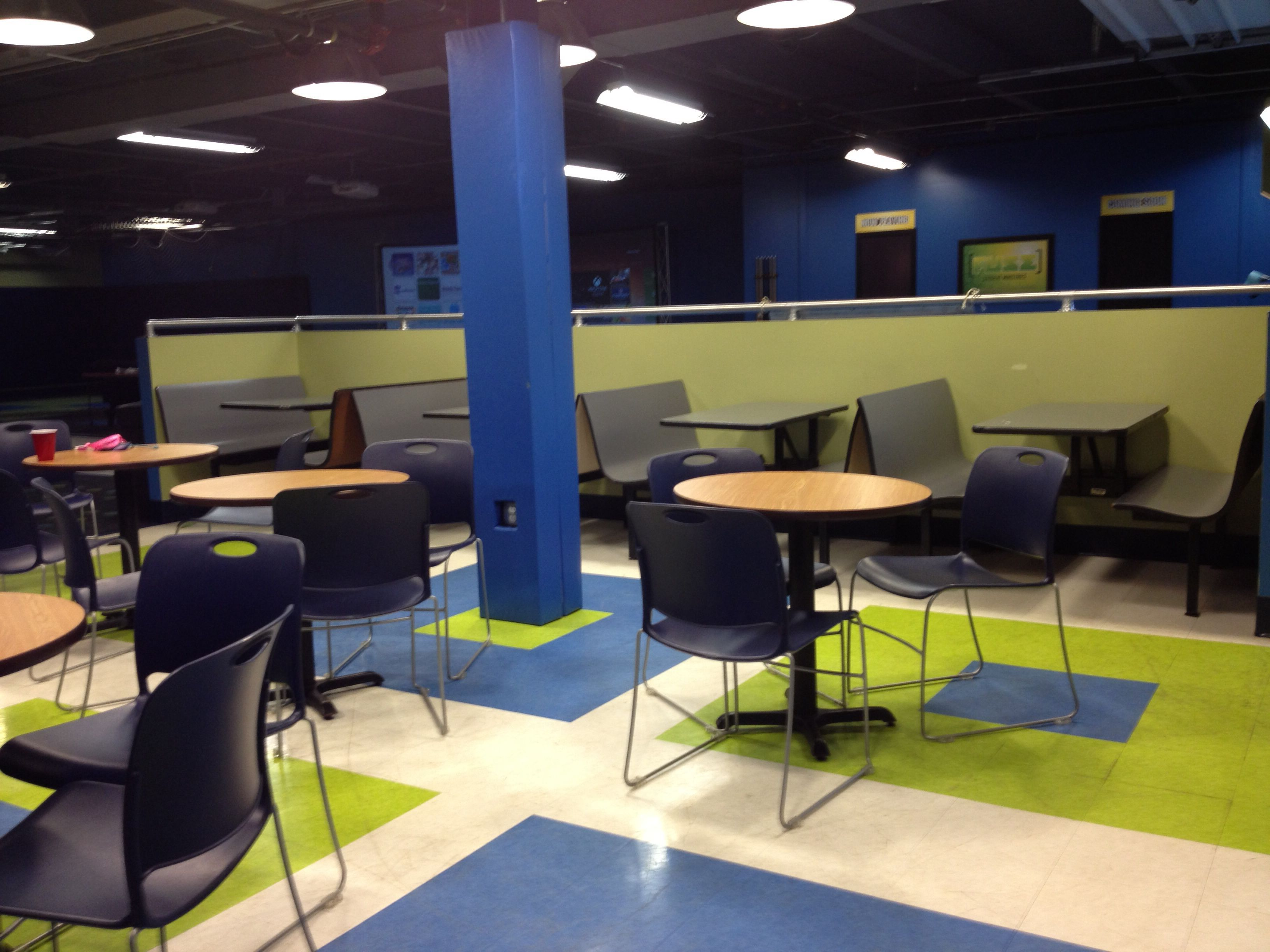 youth group room cafe | youth group room makeover | pinterest