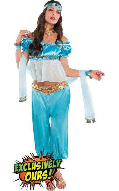 Adult Princess Jasmine Costume - Party City   Halloween ...