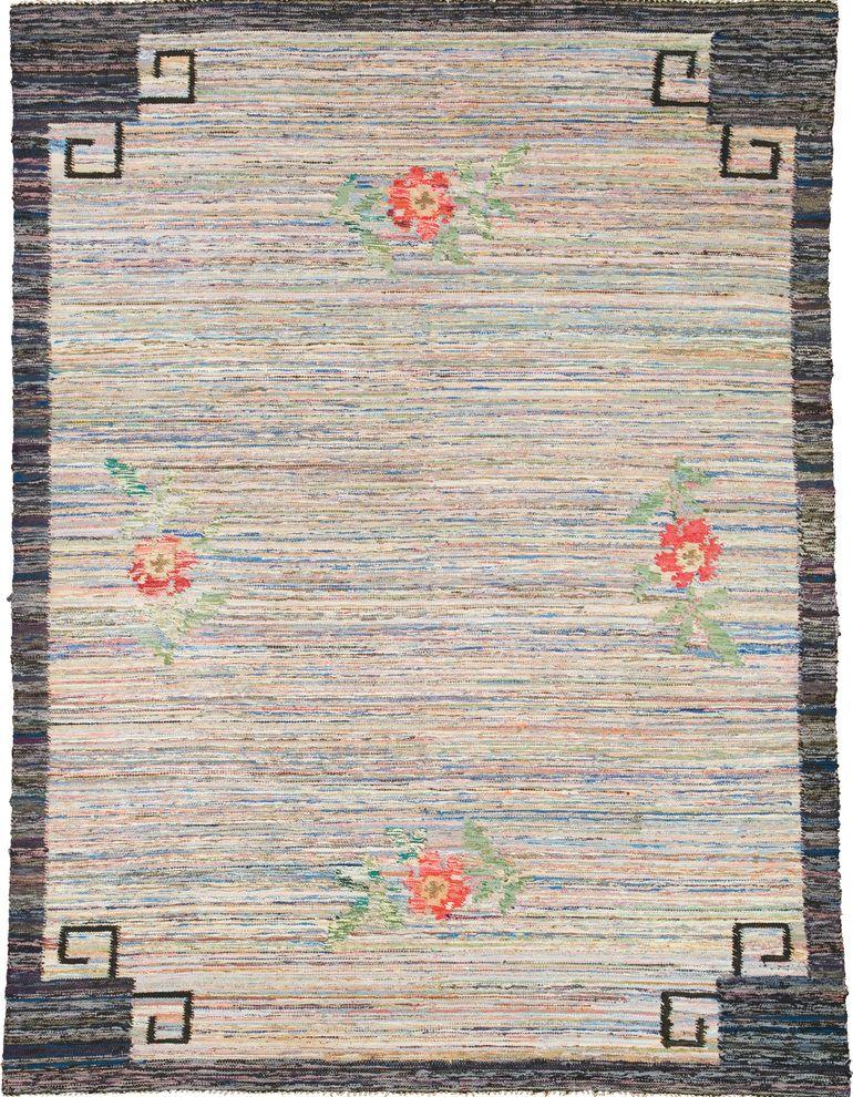 20th Century Swedish Flat Weave Carpet FJ Hakimian