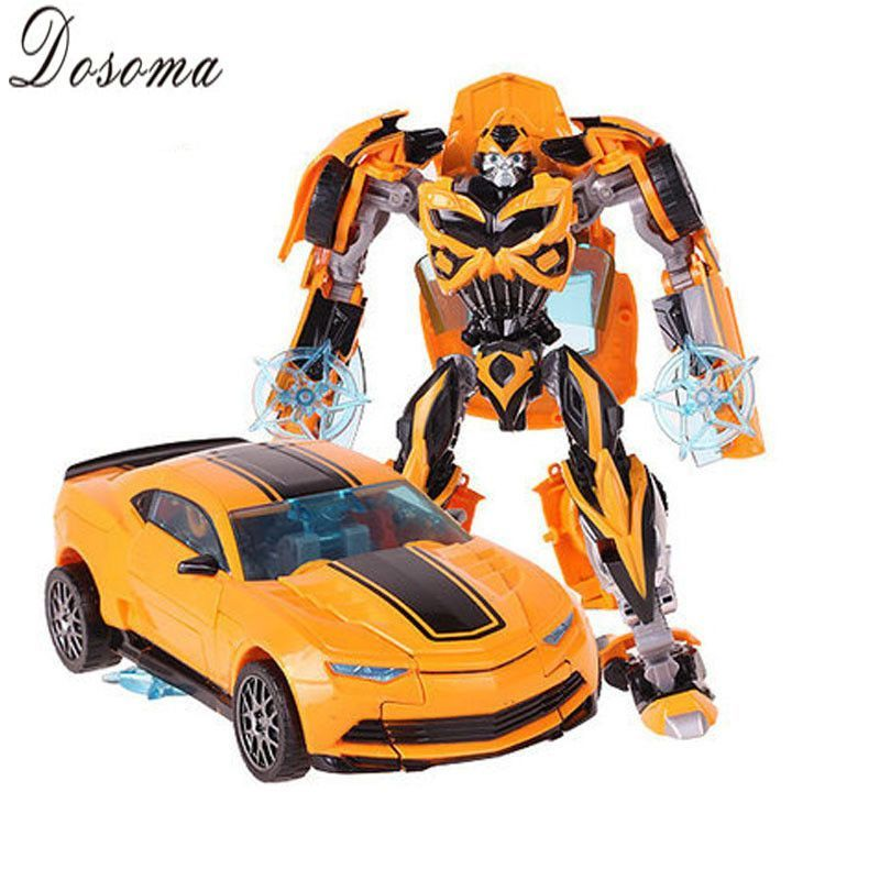 Cool Robot Car Transformation Toys Kids Bumblebee Toy Anime ...