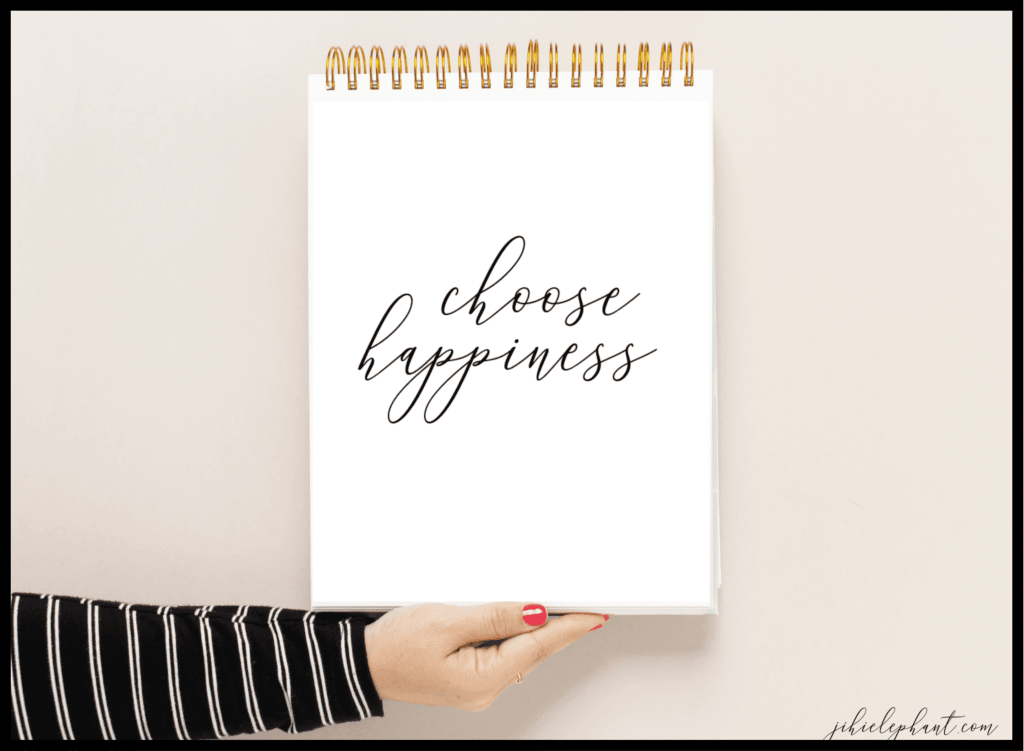 Happy Quotes Printables #augustbulletjournal