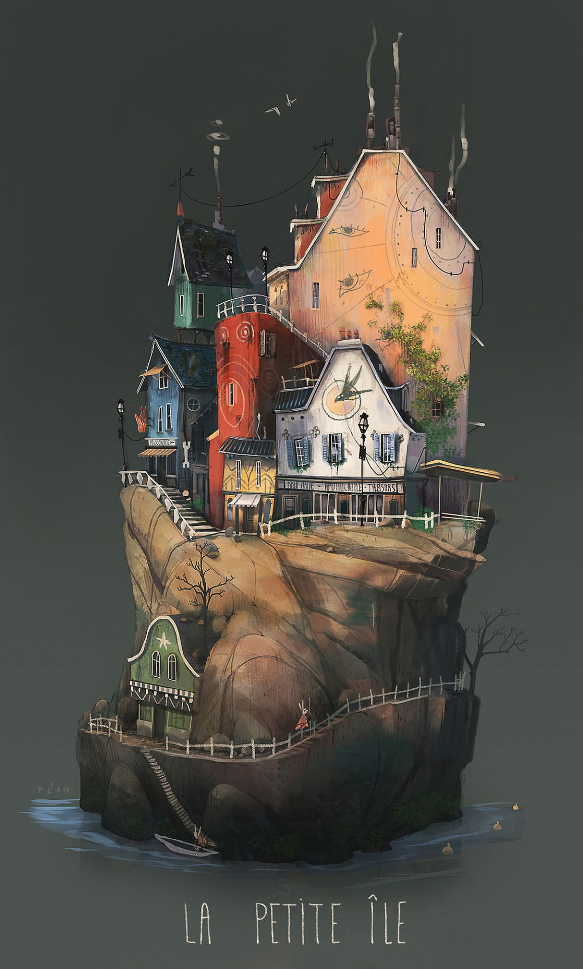 "theartofanimation: "" Pierre-Antoine Moelo "" Thanks The Art of Animation for featuring my island serie :)"