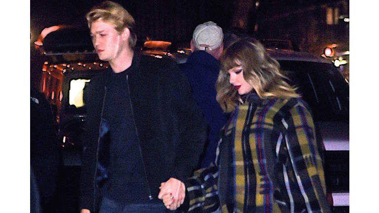 Taylor Swift And Joe Alwyn Show Up To Jingle Ball Hand In Hand
