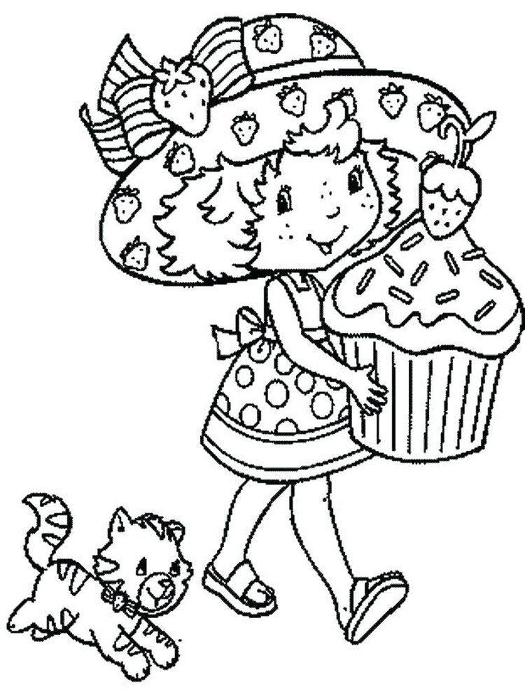 Park Art My WordPress Blog_Strawberry Shortcake Coloring Book Printable
