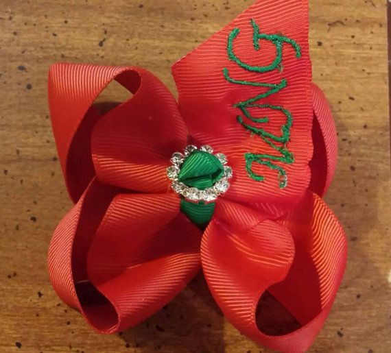 Check out this item in my Etsy shop https://www.etsy.com/listing/261473542/customized-your-monogrammed-initial-bow
