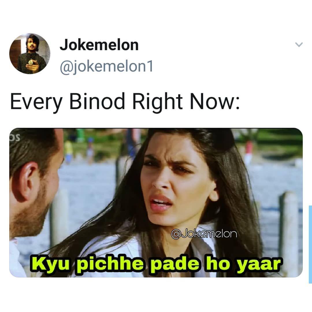 Binod Ke Memes Viral Binod Memes In 2020 Avengers Funny Memes Jokes