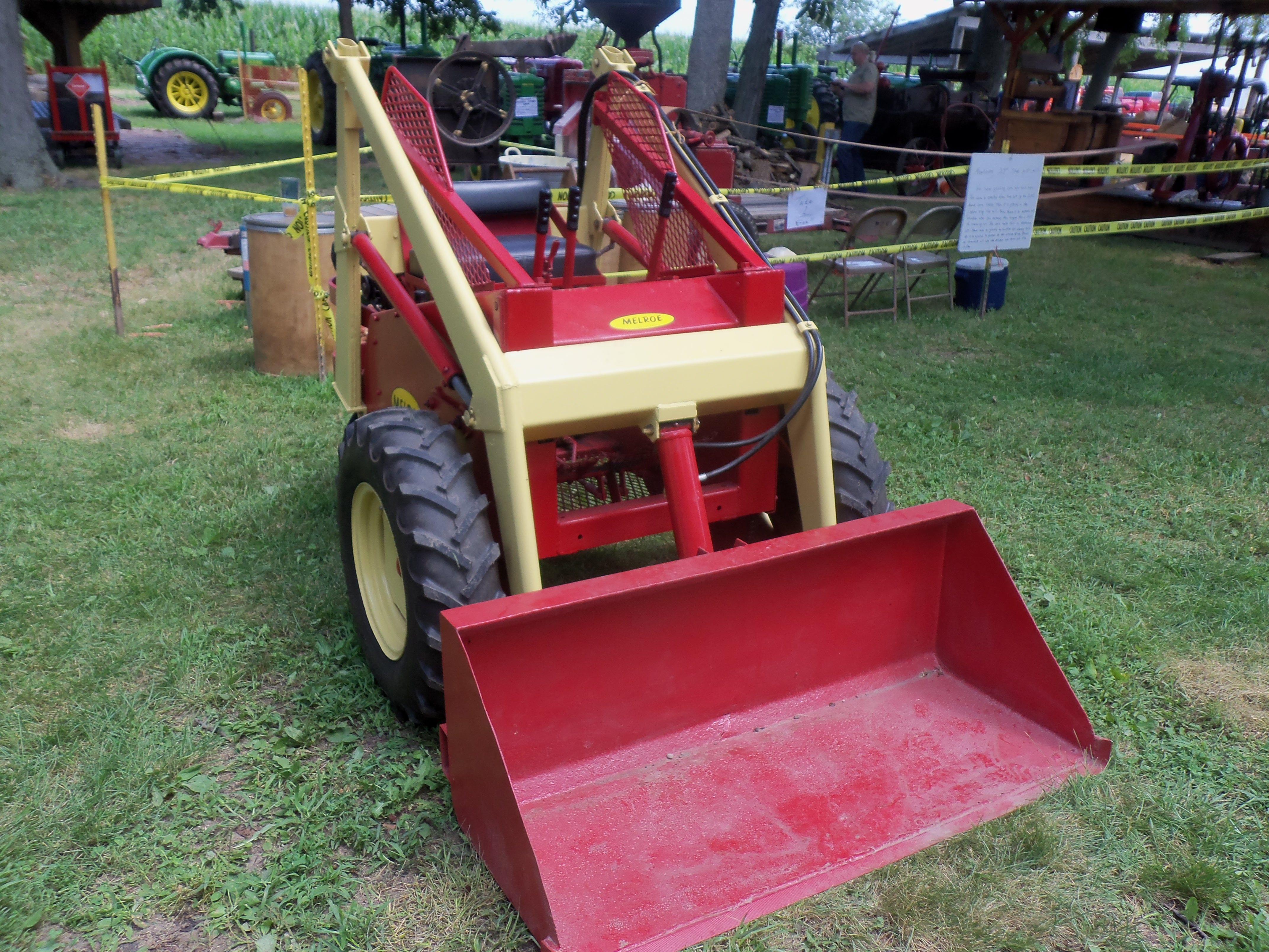 1961 Melroe Bobcat 3 wheel skid steer loader