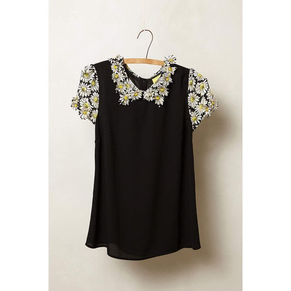 Maeve Fluttered Daisy Top 225 Pln Via Polyvore Featuring