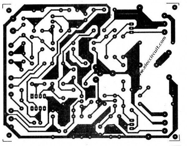 60W RMS OTL integrated audio amplifier circuit