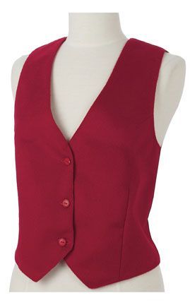 Christmas Vest.Red Wool Cashmere Ladies Christmas Vest Holiday Vests For