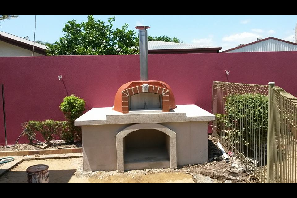 alfresco kitchens woodfired pizza ovens qld allfresco woodfired pizza oven alfresco on outdoor kitchen queensland id=20177