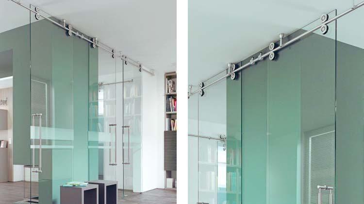Twin Sliding Door Hardware Kit Specialtydoors Com Sliding Door Hardware Glass Shower Doors Shower Ceilings