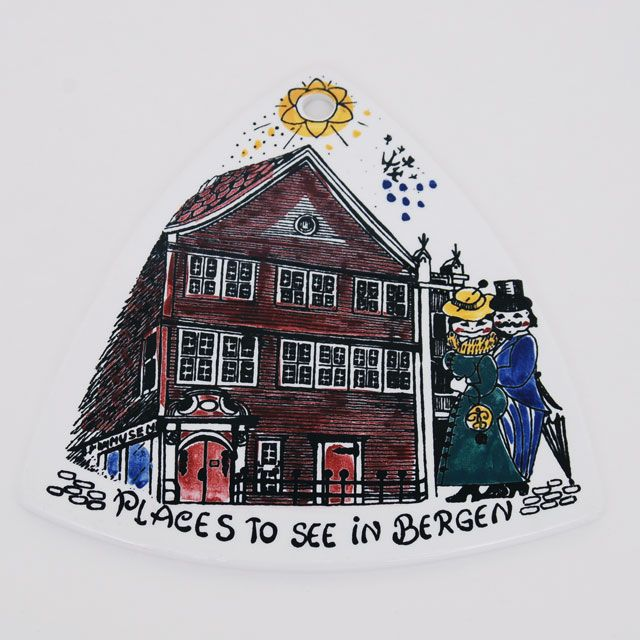 Trekantfjeler fra Bergen - Stavangerflint
