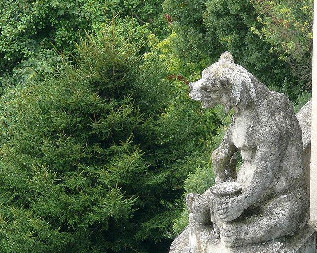 Gargoyle bear and honey pot honey bear gargoyle at biltmore estate httpwriterlysam20140408architects of illusion echoes of olympus 1 gargoyles grotesques bears malvernweather Images